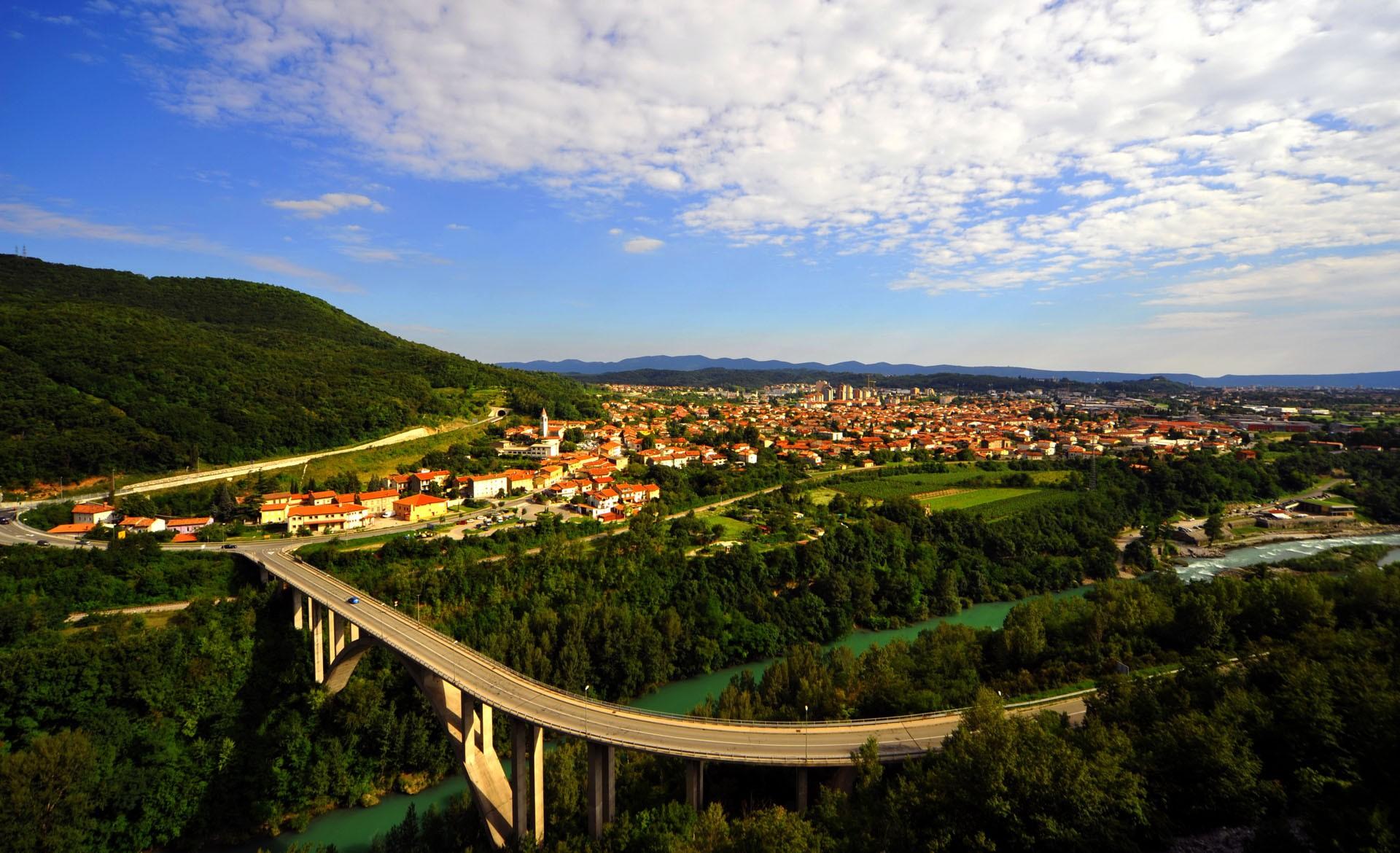 Die Stadt Nova Gorica